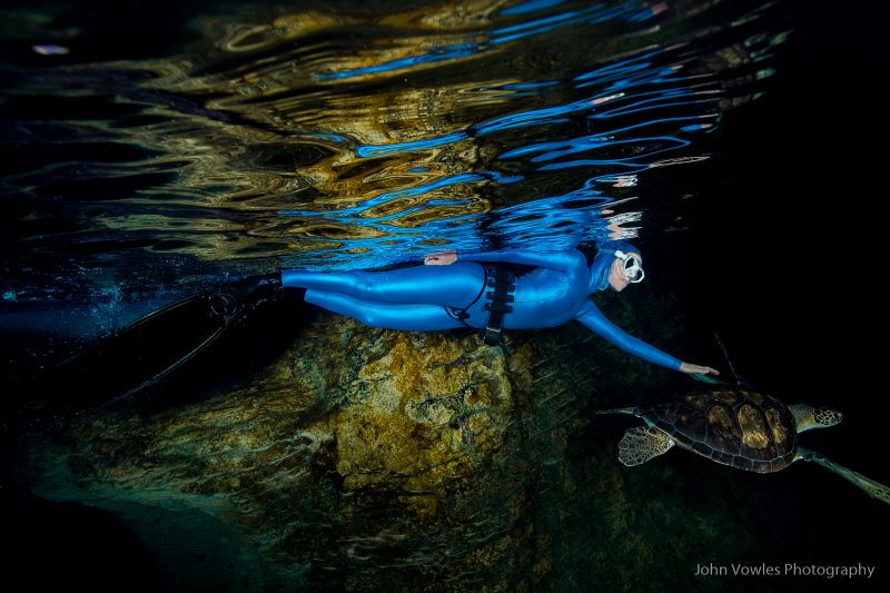 Scuba Lifestyle Shoot with Lesley Rochat