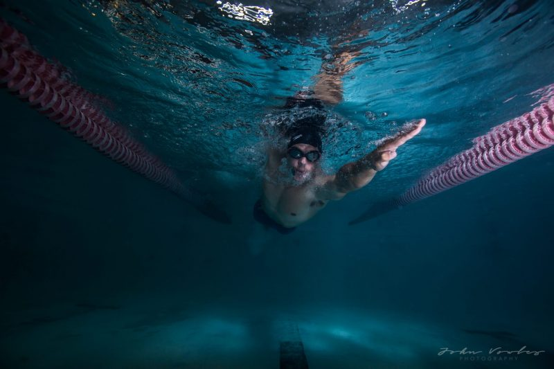 Swimming session with Alex Kock