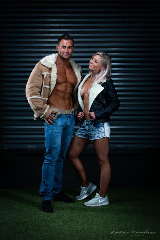 Lifestyle couple shoot with Deidre Vrey & Oelof Bergh