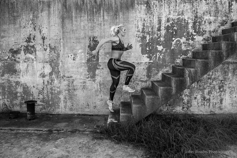 Fitness shoot with Sunelle Barnard