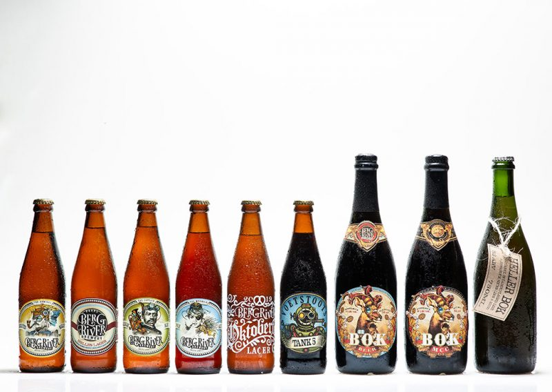Berg River Brewery product shoot